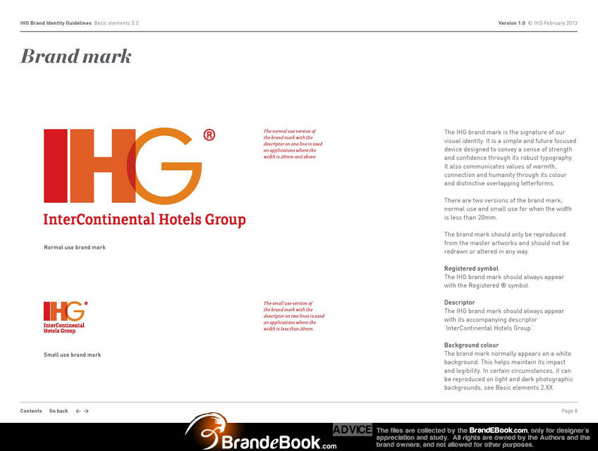 brand manual corporate identity guidelines pdf download categories rh brandebook com Standards Manual Examples ihg brand standards manual 2016