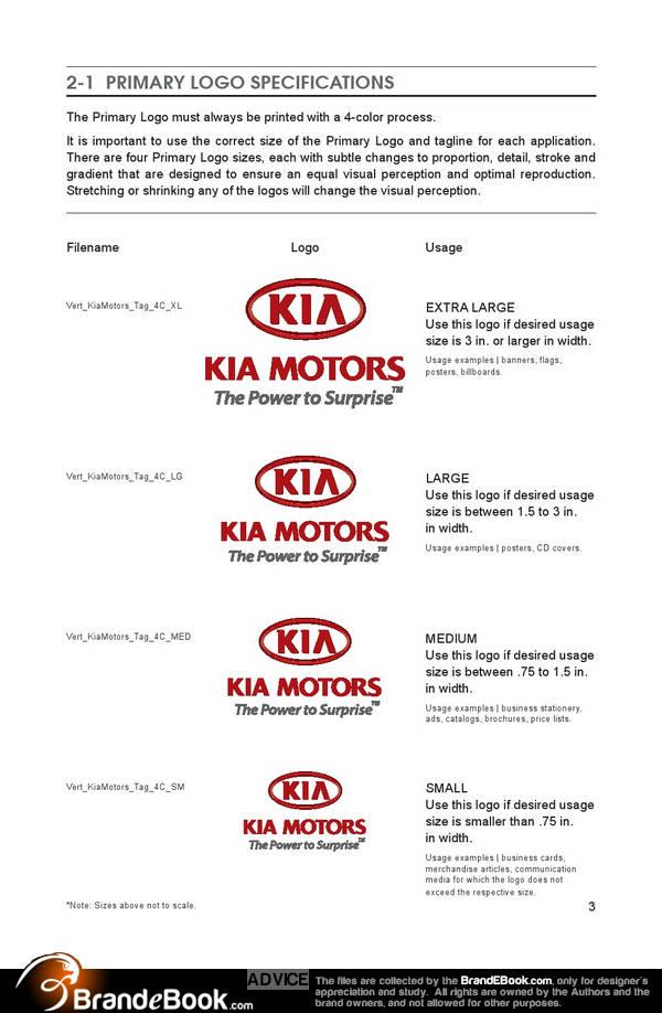 kia corporate design manual