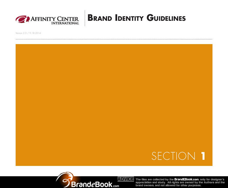Brand Manual Corporate Identity Guidelines PDF Download Categories