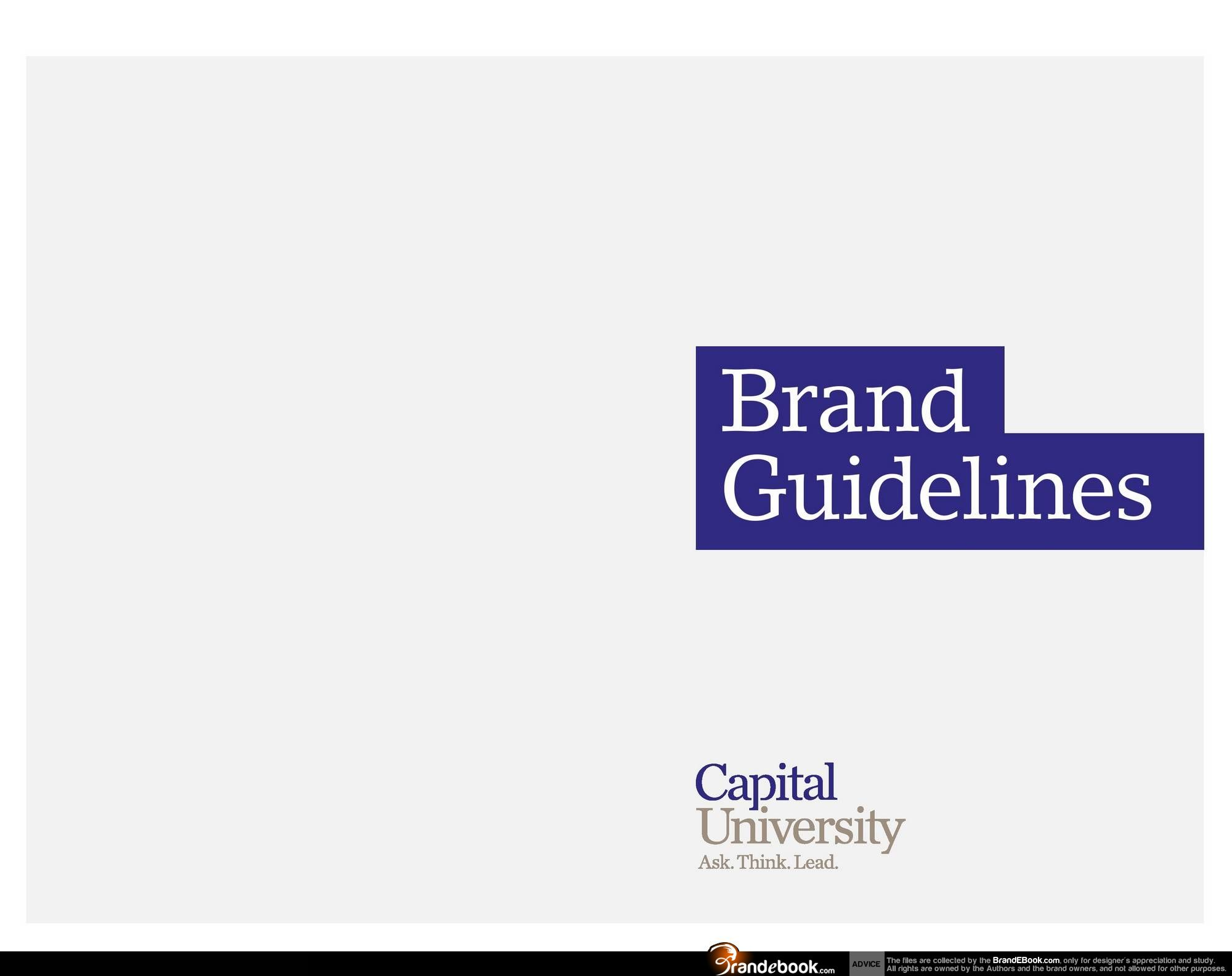 Capital University Brand Guidelines