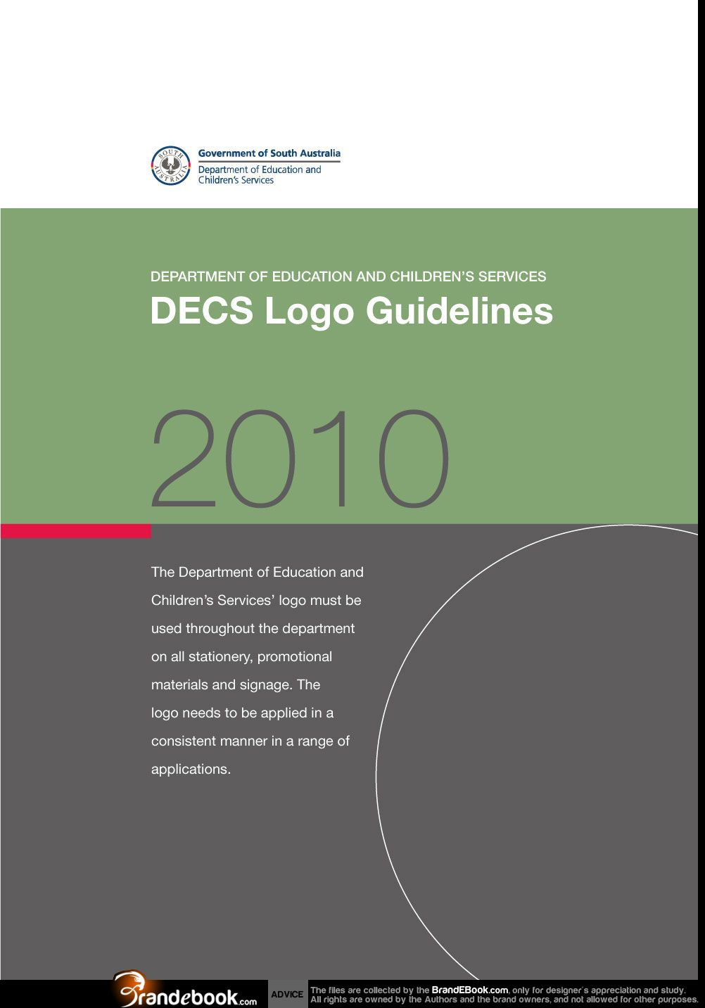 Brand manual corporate identity guidelines pdf download categories decs department of education and childrens services logo guidelines fandeluxe Gallery