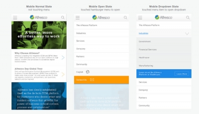Alfresco brand guidelines visuals