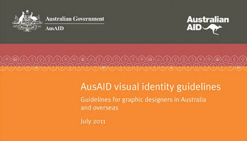 AusAID visual identity guidelines