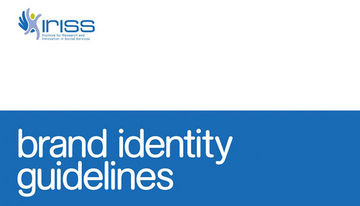 IRISS Institute for Research and Innovation in Social Services brand identity guidelines