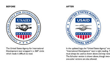 USAID US Agency for International Development interim graphic standards